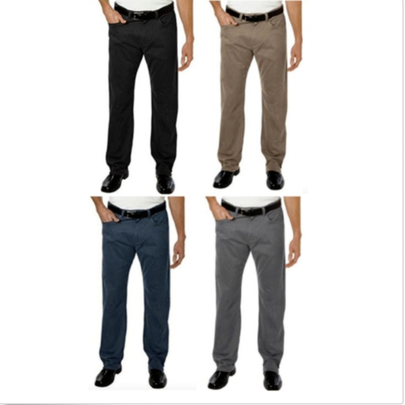 Kirkland Signature Men`s 5 Pocket brushed Cotton Pant